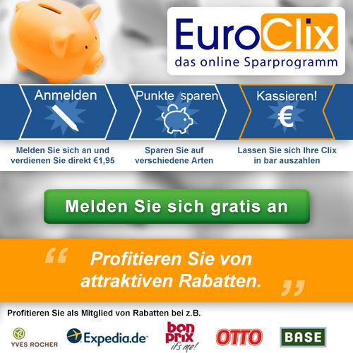 Sparen Sie Geld mit EuroClix